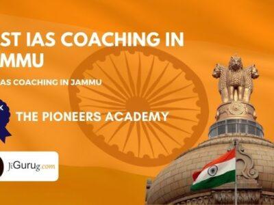 Top IAS Coaching Centers in Jammu