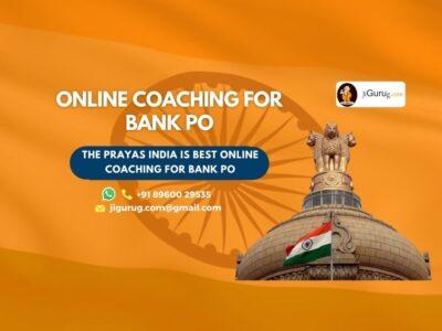 Best Online Bank PO Coaching Institute