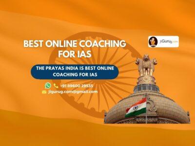 Best Online IAS Exam Coaching Centre