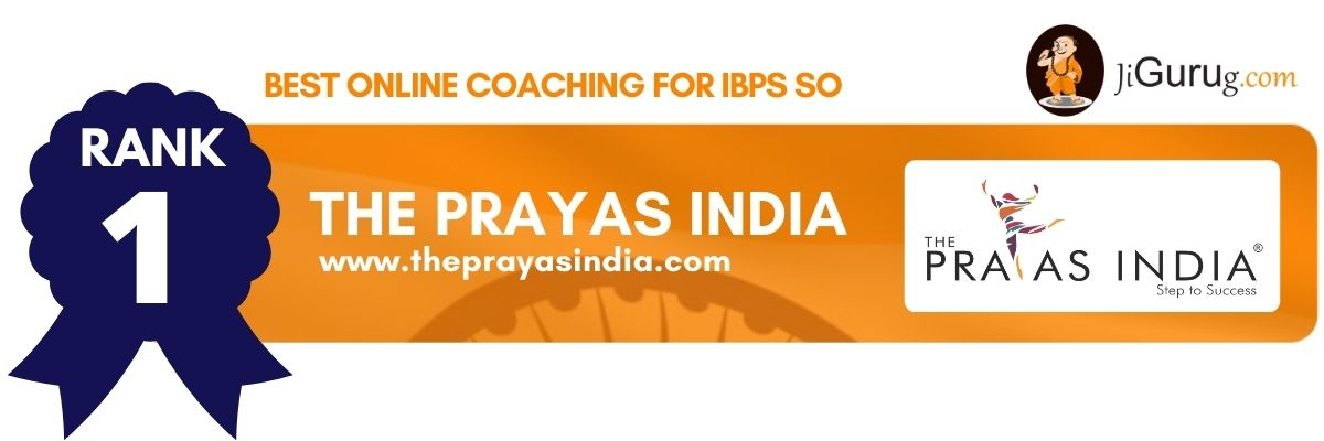 Best Online Coaching For IBPS SO