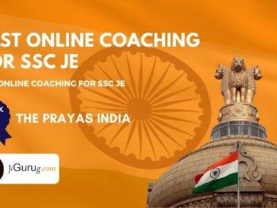 Top SSC JE Online Coaching