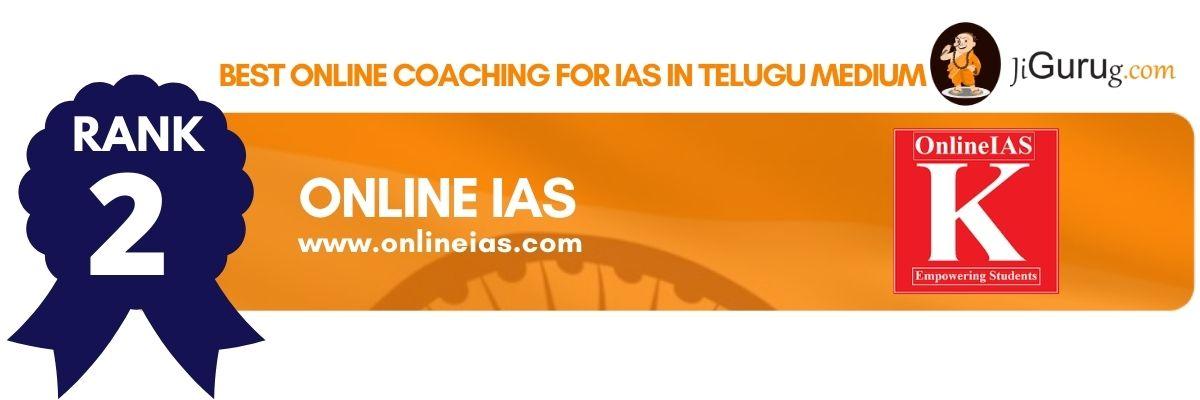 Top Online Coaching For IAS In Telugu Medium