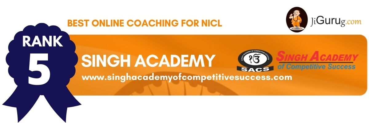 Best NICL Online Coaching Institutes