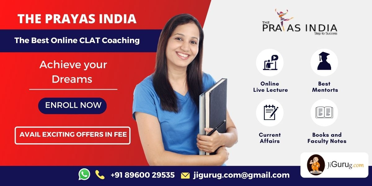 The Prayas India Top Online CLAT Coaching Centre