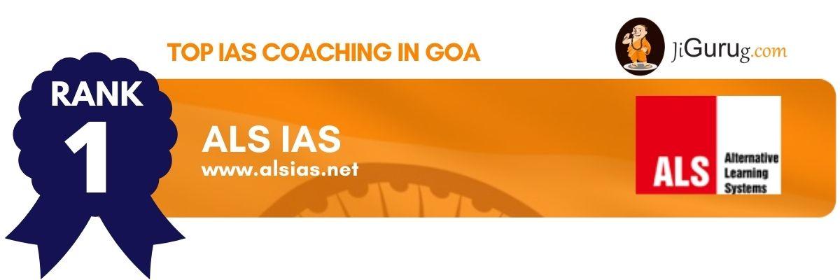 Top IAS Coaching Centers in Goa