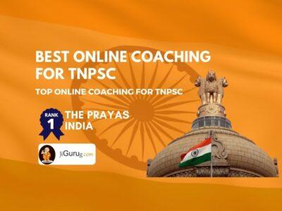 Top Online Coaching For TNPSC