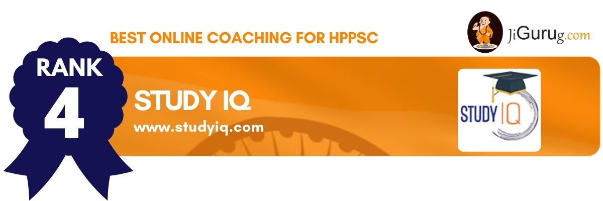 Top Online HPPSC Coaching Centres Study IQ