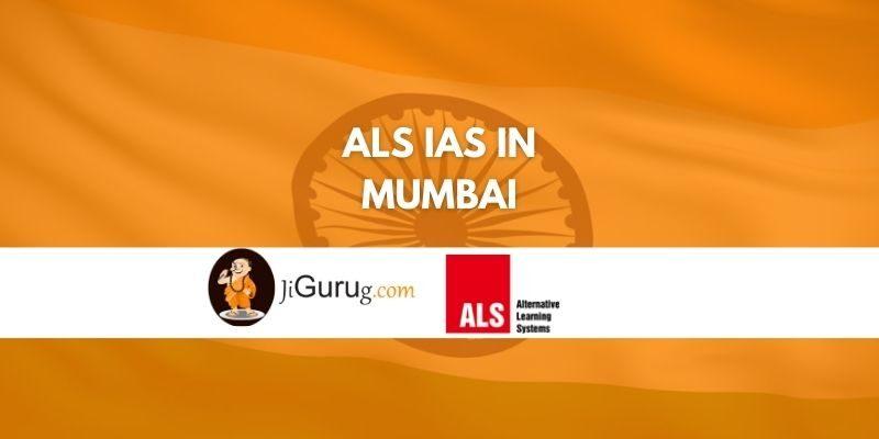 ALS IAS Coaching in Mumbai review