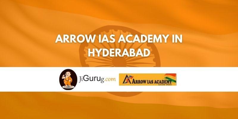 Arrow IAS Academy in Hyderabad Review