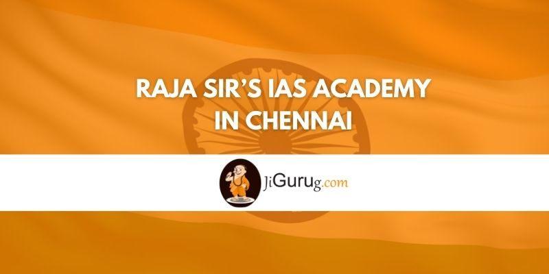 Bala IAS Academy in Chennai Review