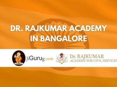 Dr Rajkumar Academy Bangalore Review