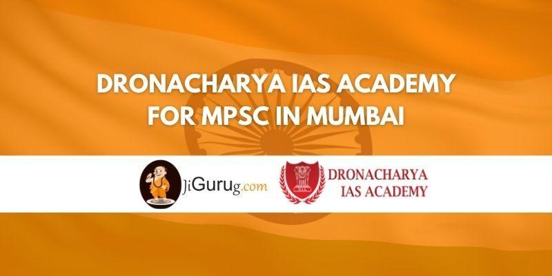 Dronacharya IAS Academy for MPSC in Mumbai Review