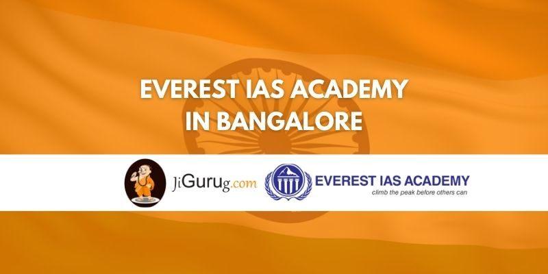 Everest IAS Academy Bangalore Review