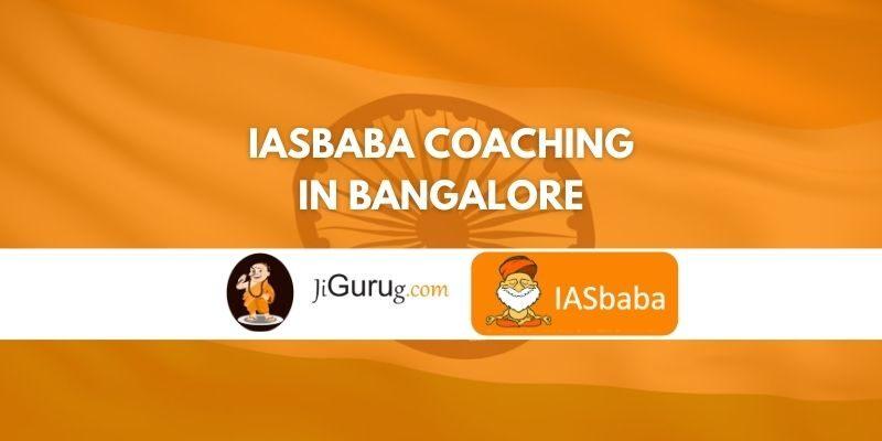IASBABA Coaching in Banaglore Review