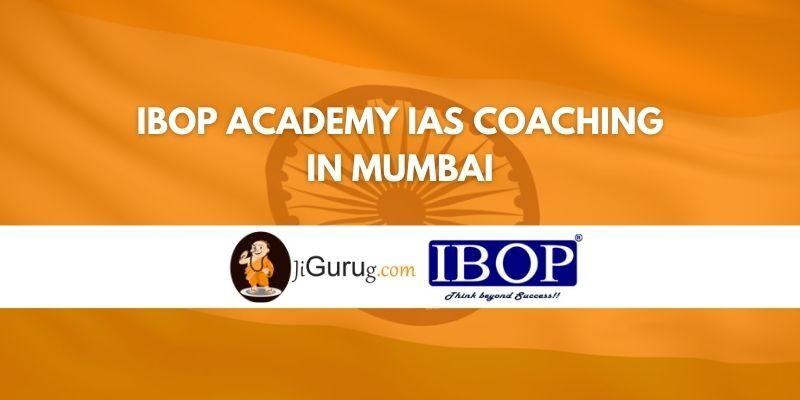 IBOP Academy IAS Coaching in Mumbai Review