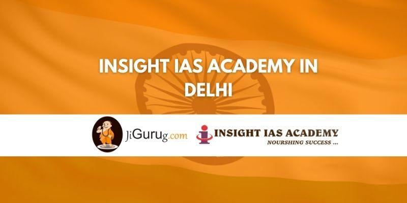Insight IAS Academy in Delhi Review