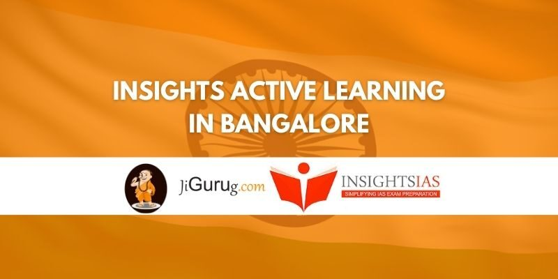 Insights Active Learning IAS Coaching Bangalore Review