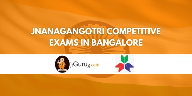 Jnanagangotri Competitive Exams Coaching Centre Bangalore