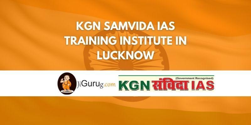 KGN Samvida IAS Training Institute in Lucknow Review