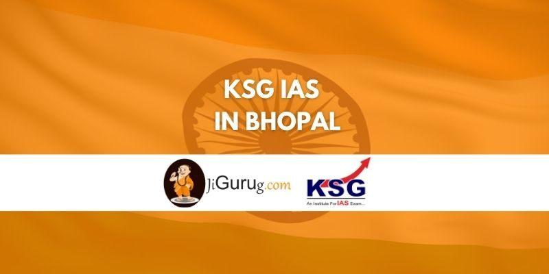 KSG IAS in Bhopal review