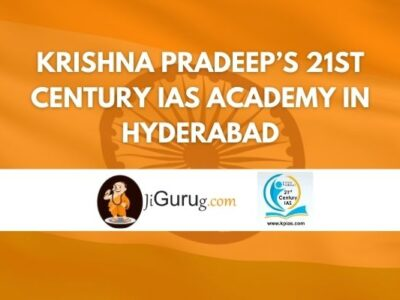 Krishna Pradeep's 21st Century IAS Academy in Hyderabad Review