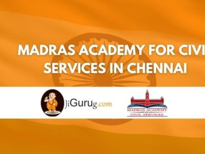 Madras Academy for Civil Services in Chennai Review