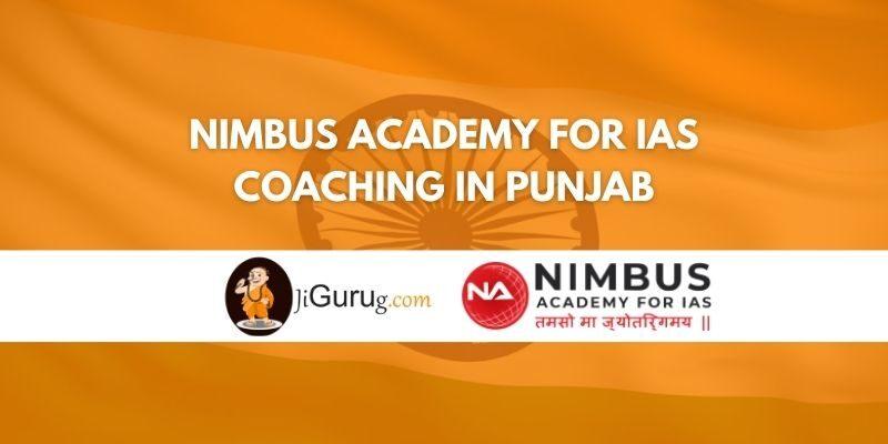 Nimbus Academy for IAS Coaching in Punjab Review