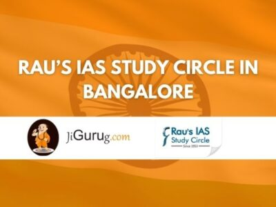 Rau's IAS Study Circle in Bangalore review