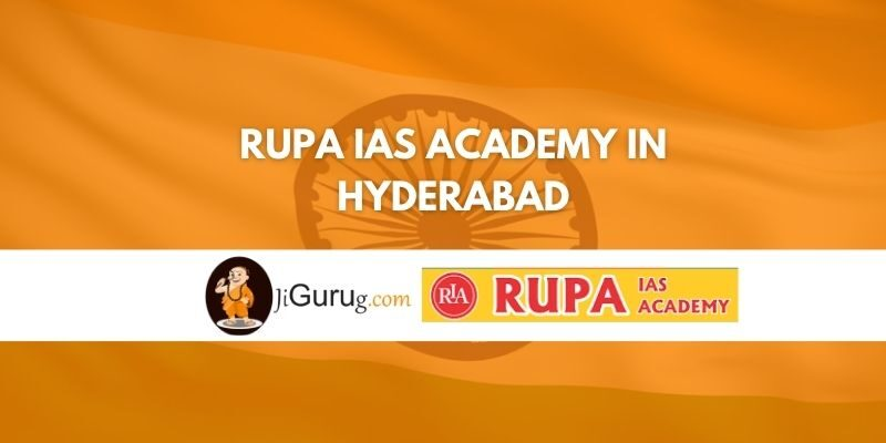 Rupa IAS Academy in Hyderabad Review