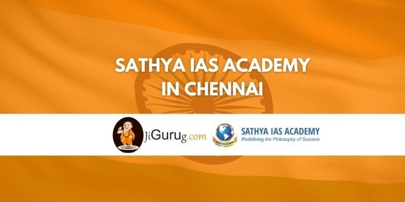 Sathya IAS Academy in Chennai Review