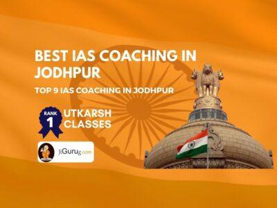 Top IAS Coaching in Jodhpur