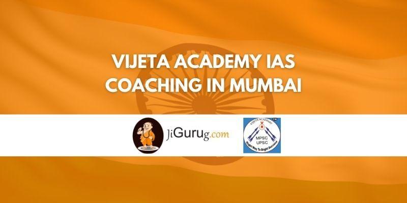 Vijeta Academy IAS Coaching in Mumbai Review