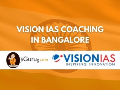 Vision IAS in Bangalore Review