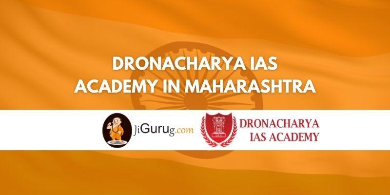 Dronacharya IAS Academy in Maharashtra Review