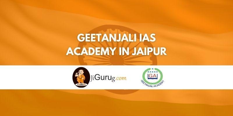 Geetanjali IAS Academy in Jaipur Review