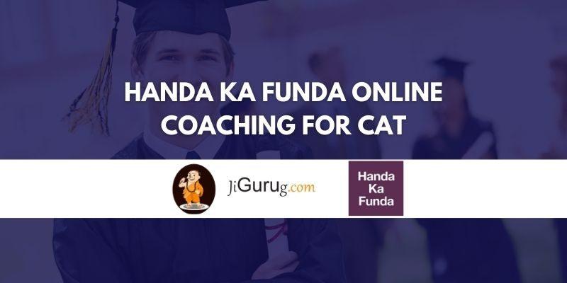 Handa ka Funda Online Coaching for CAT Review