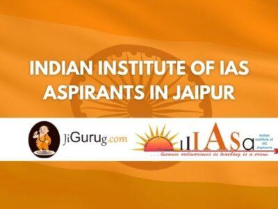 Indian Institute of IAS Aspirants in Jaipur Review