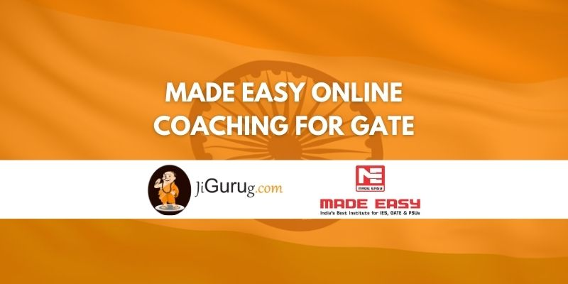 Made Easy Online Coaching for GATE Review
