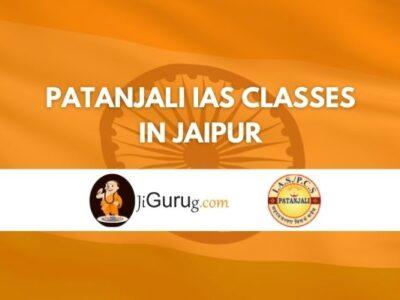 Patanjali IAS classes in Jaipur Review