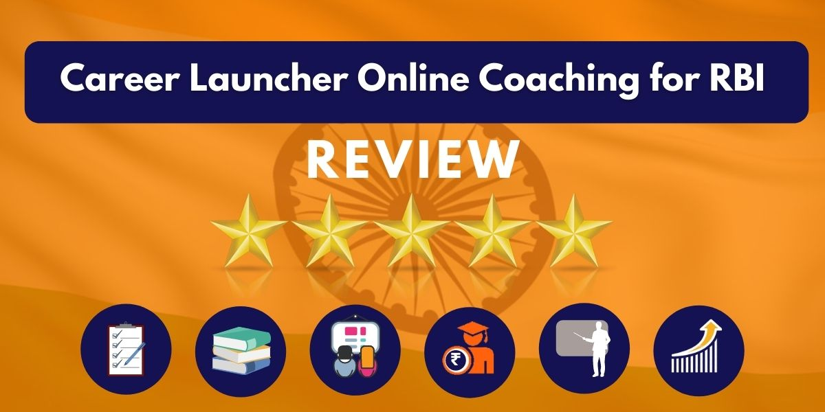 Review of Career Launcher Online Coaching for RBI