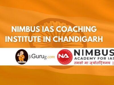 Review of Nimbus IAS Coaching Institute in Chandigarh