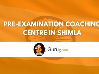 Review of Pre-Examination Coaching Centre in Shimla