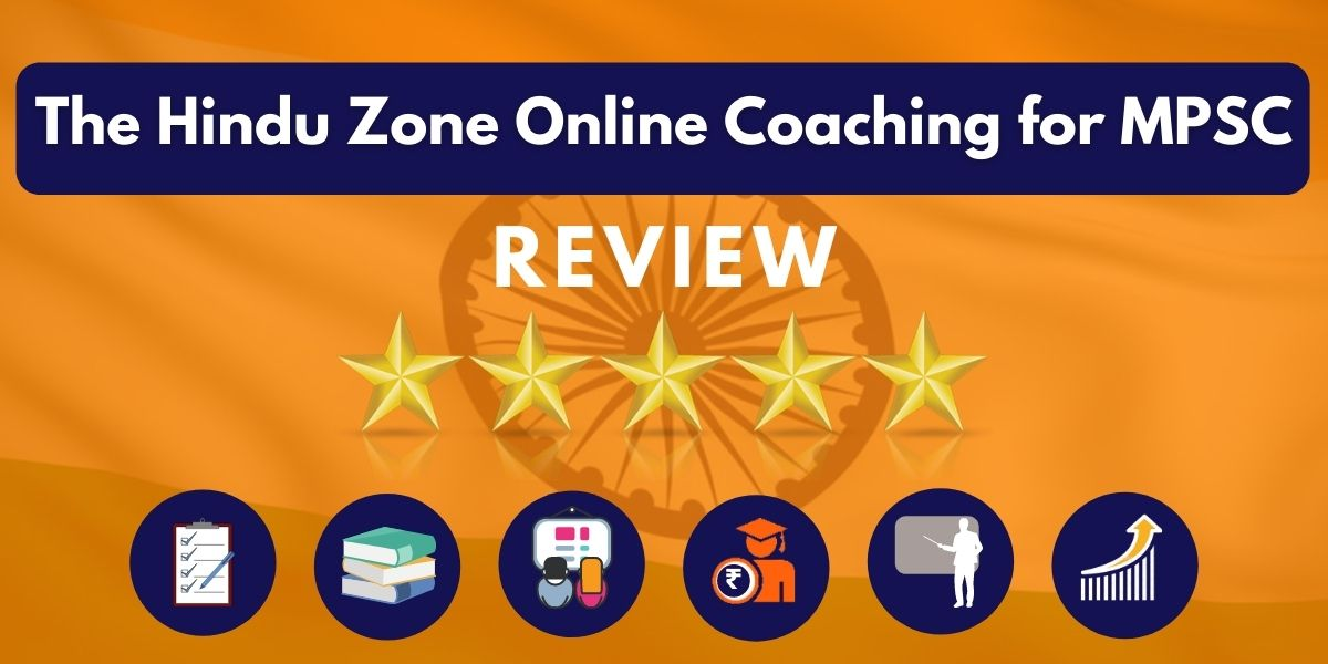 Review of The Hindu Zone Online Coaching for MPSC