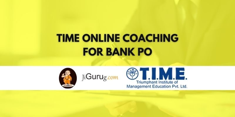 TIME Online Coaching for Bank PO Review
