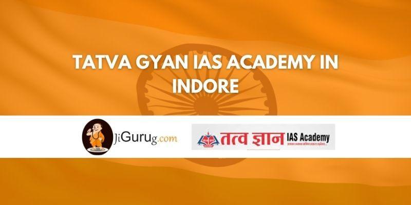 Tatva gyan IAS Academy in Indore Review