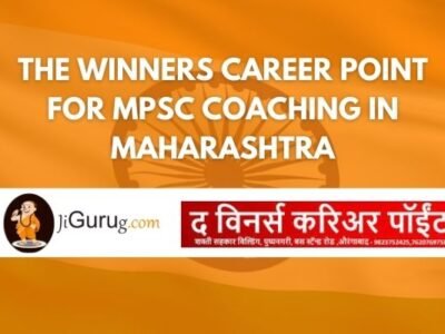The Winners Career Point for MPSC Coaching in Maharashtra Review