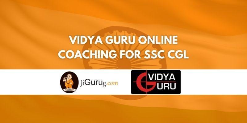 Vidya Guru Online Coaching for SSC CGL Review