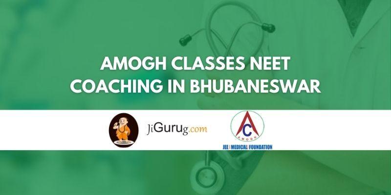 Amogh Classes NEET Coaching in Bhubaneswar Review