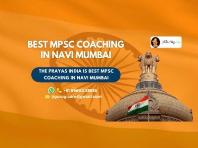 Top MPSC Coaching Institute in Navi Mumbai