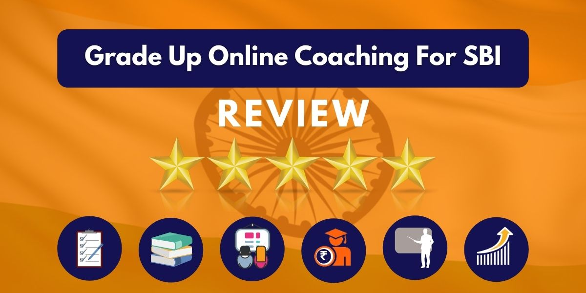 Grade Up Online Coaching For SBI Review